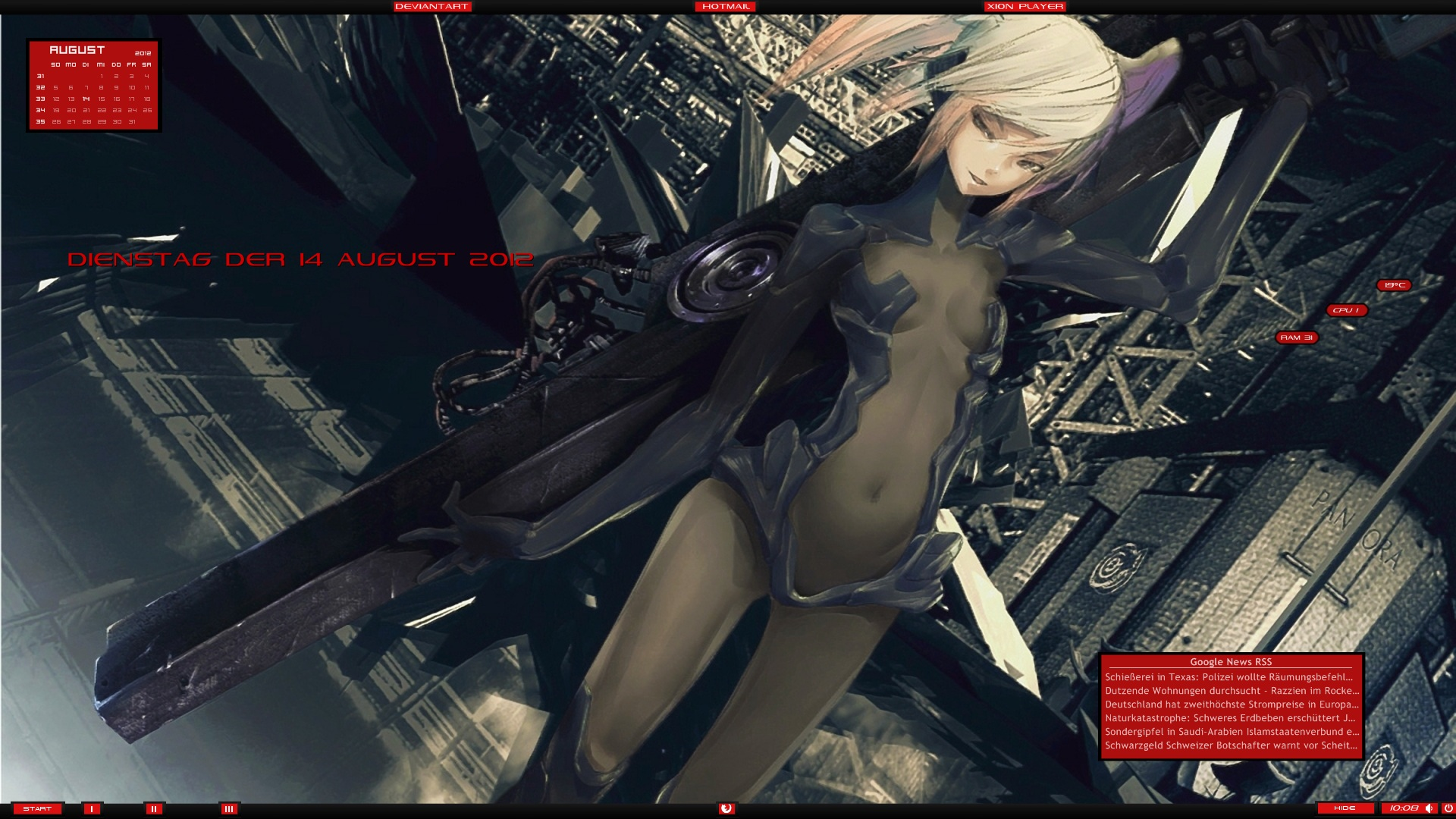 Anime Desktop 14.08.2012 by DocBerlin77