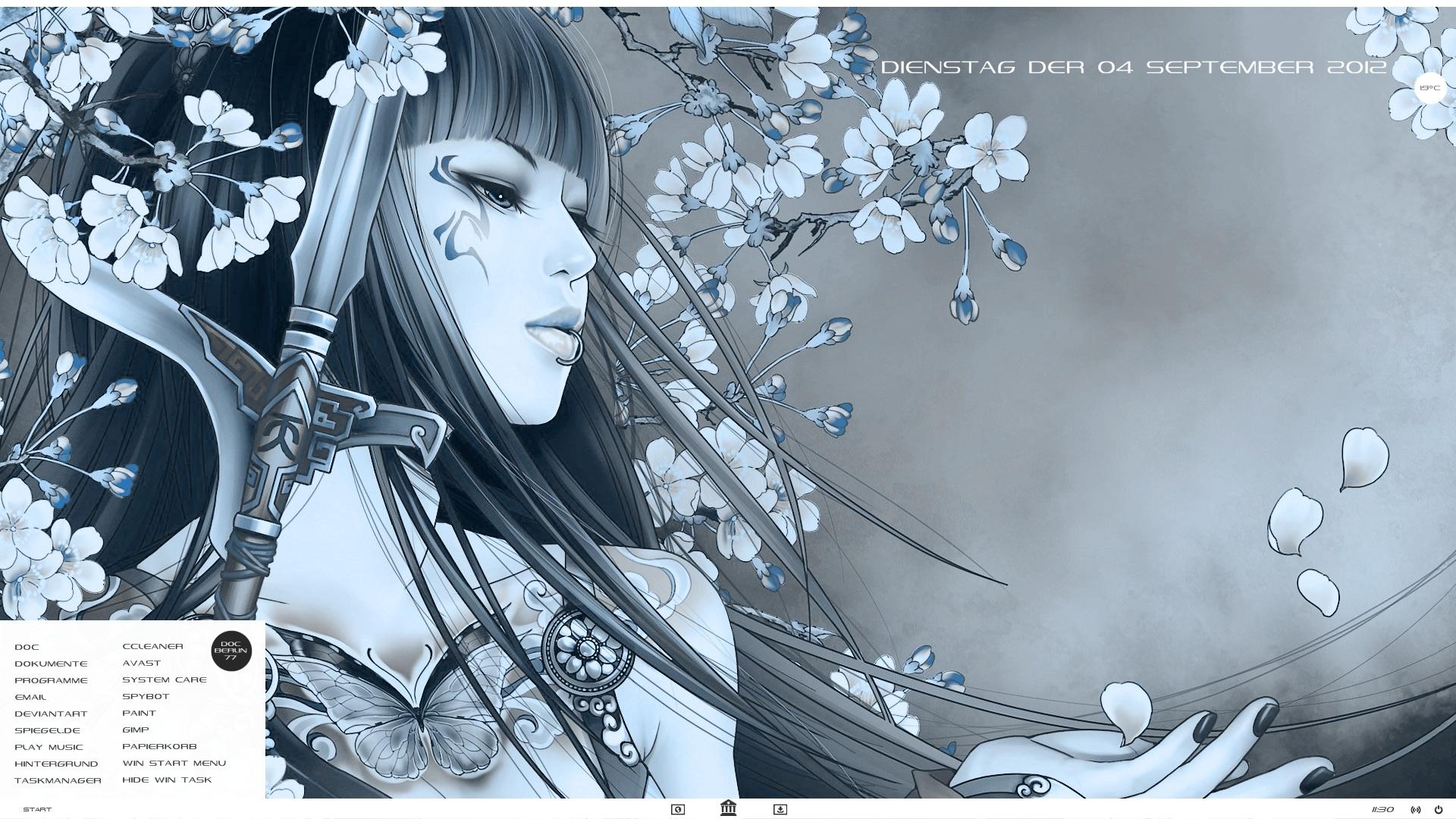 Beautiful Warrior  04.09.2012 by DocBerlin77
