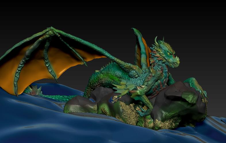 Dragon by Sa66