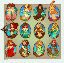 super horoscopes by loish