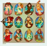 super horoscopes by loish