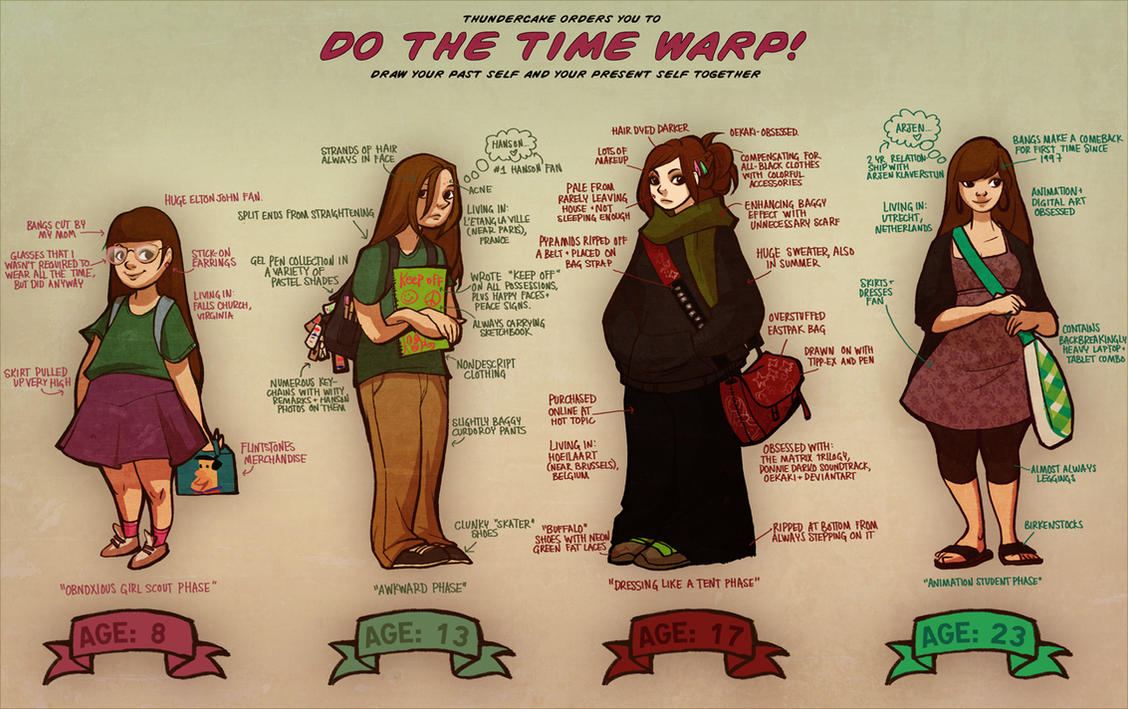 time warp by loish