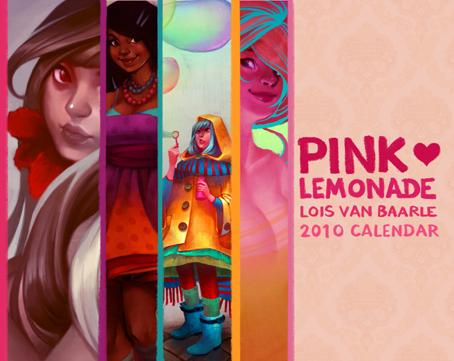 pink lemonade: 2010 calendar by loish