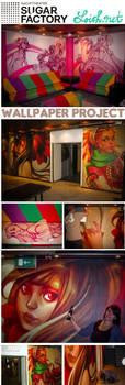 sugar factory wallpaper by loish