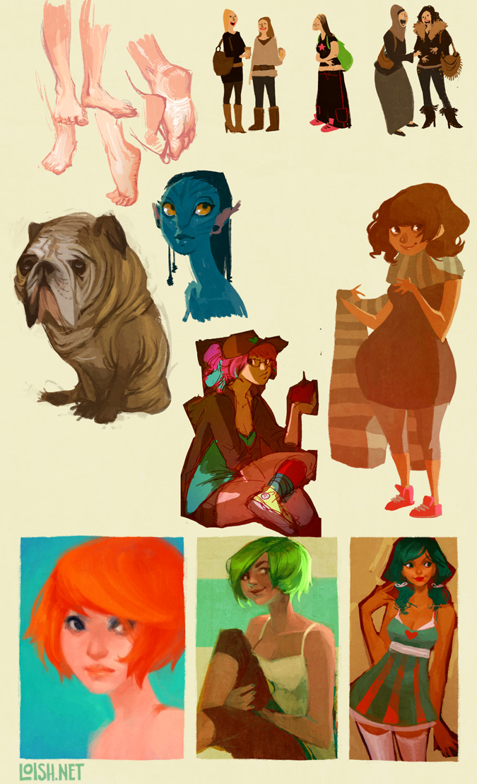 sketchblog sketchdump 2 by loish