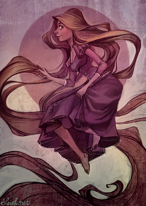 tangled by loish