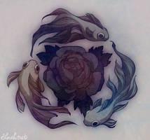 subaqueous rose