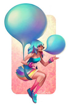 OUAM: Blue Bubblegum Balloons
