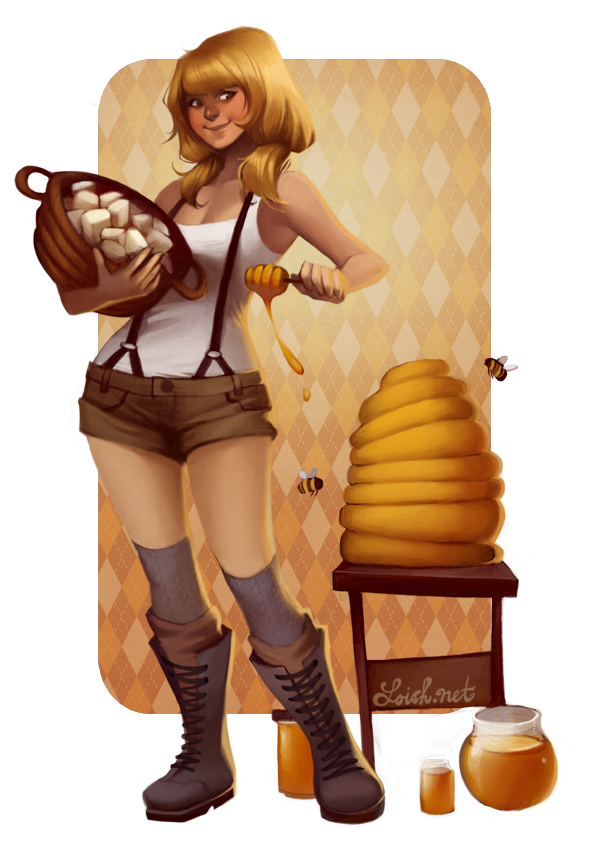 OUAM: Honey Nougat by loish