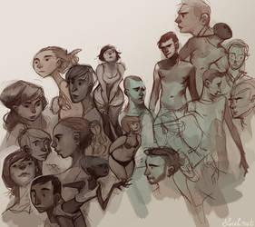 sketch mashup by loish