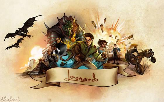 Leonardo: the game