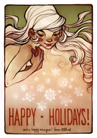 happy holidays! by loish