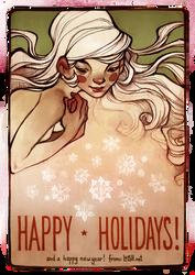 happy holidays! by loish