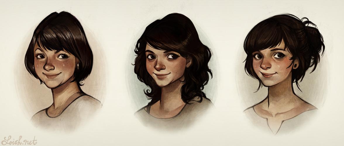 three sisters by loish