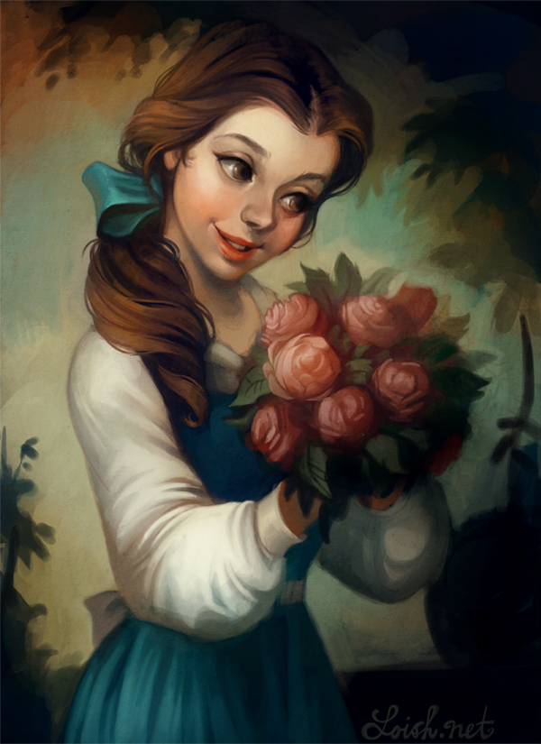 Belle By Loish On Deviantart