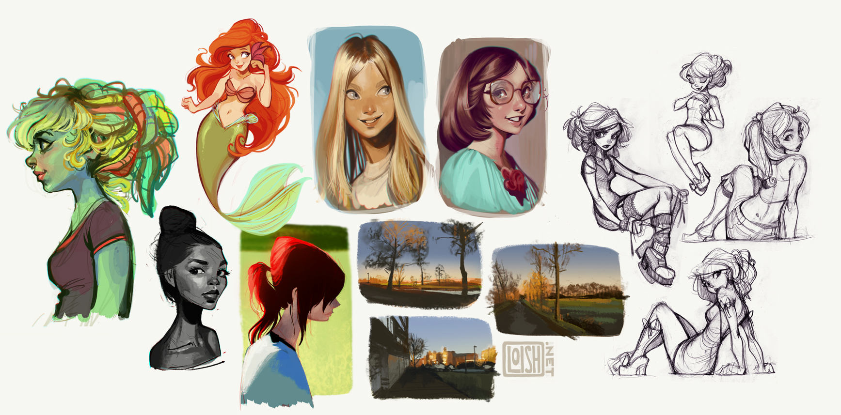 sketchblog sketchdump 7 by loish