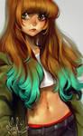 manga tribute - 02 - closeup by loish