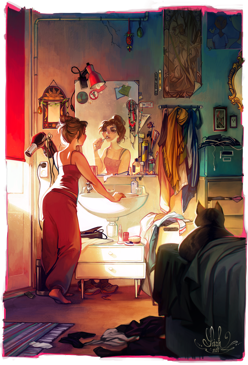 Morning by loish