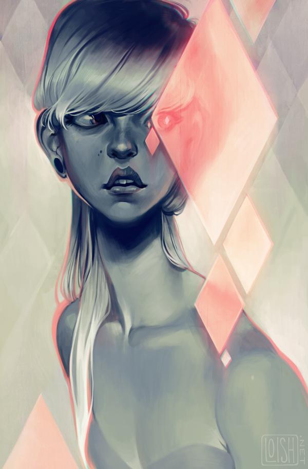 blush by loish
