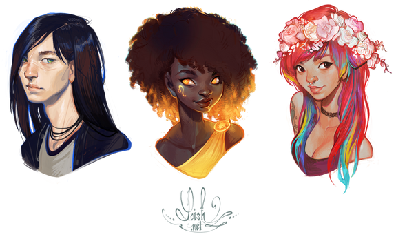 bust commissions