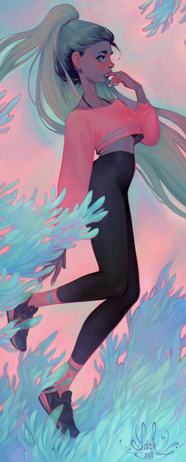 anemone by loish