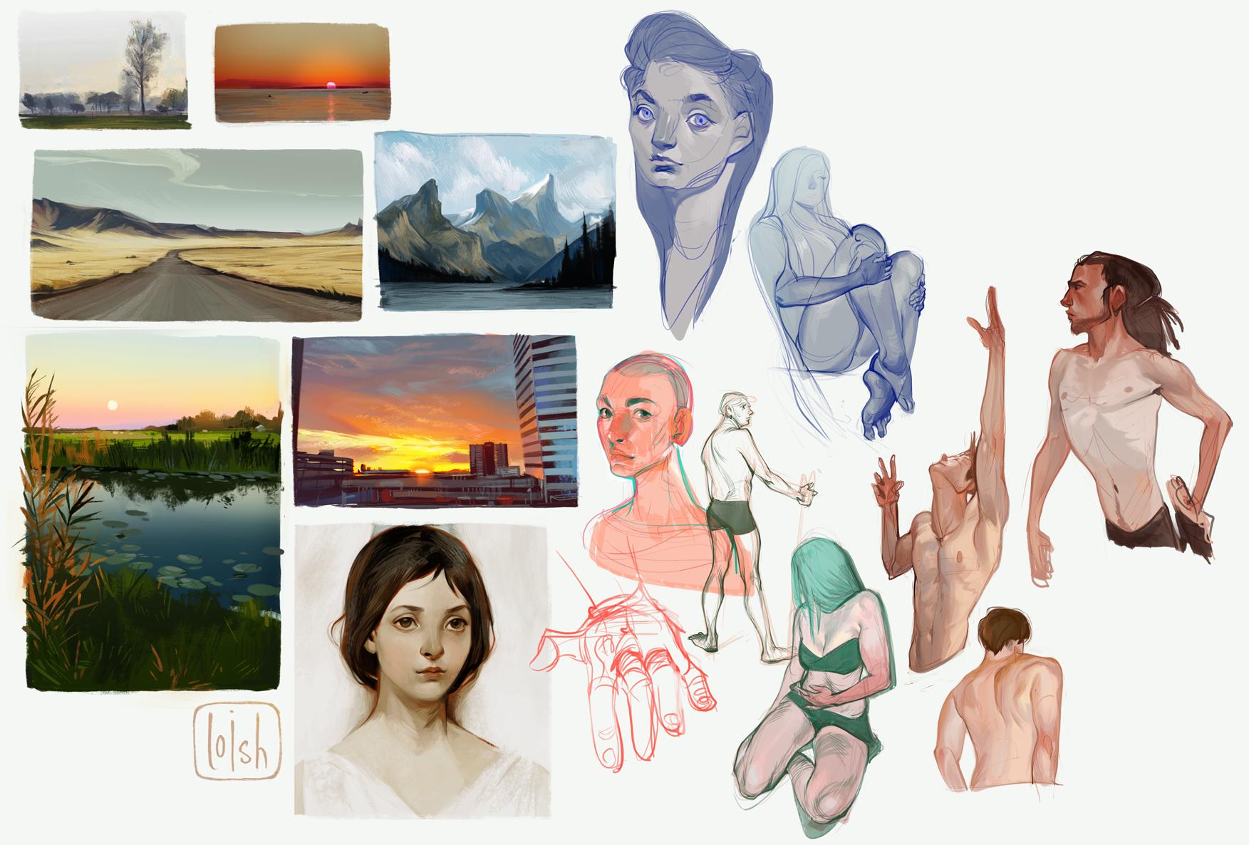 sketchdump 10 by loish