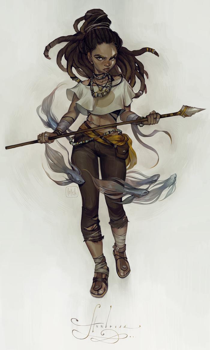 huntress by loish