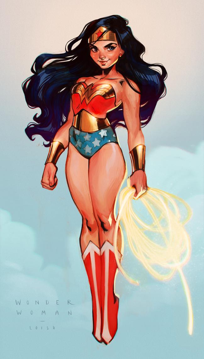Wonder Woman by loish