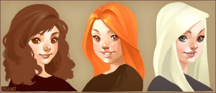 the HP girls