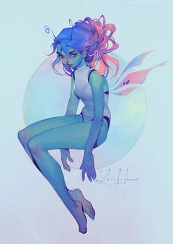 butterfly girl v2