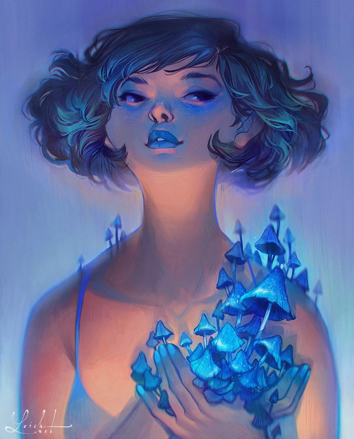 indigo by loish
