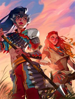 horizon zero dawn comic - variant cover 1