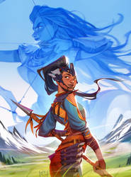 horizon zero dawn comic - variant cover 2