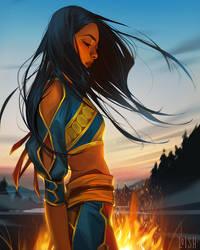 horizon zero dawn comic - variant cover 3
