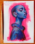 brushtober 04 // portrait
