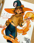 brushtober 06 // witch