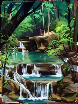 travel // river