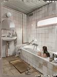 interior practice // bathroom