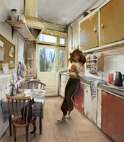 interior practice // kitchen