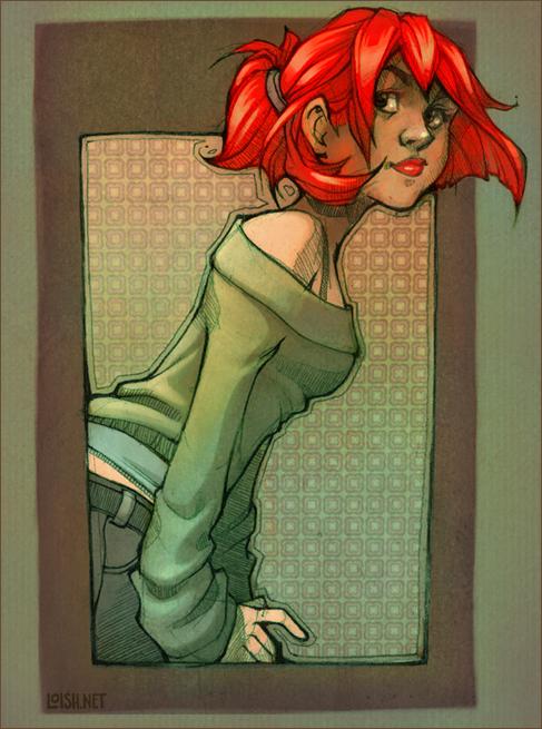 redhead by loish
