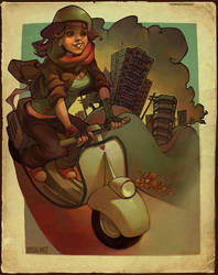 vespa by loish