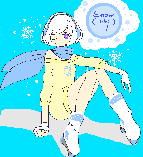 {Snow} OC by Ask-X-Beat-Jsrf