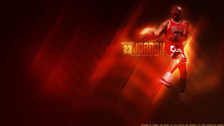Michael Jordan Wall by lyricalflowz