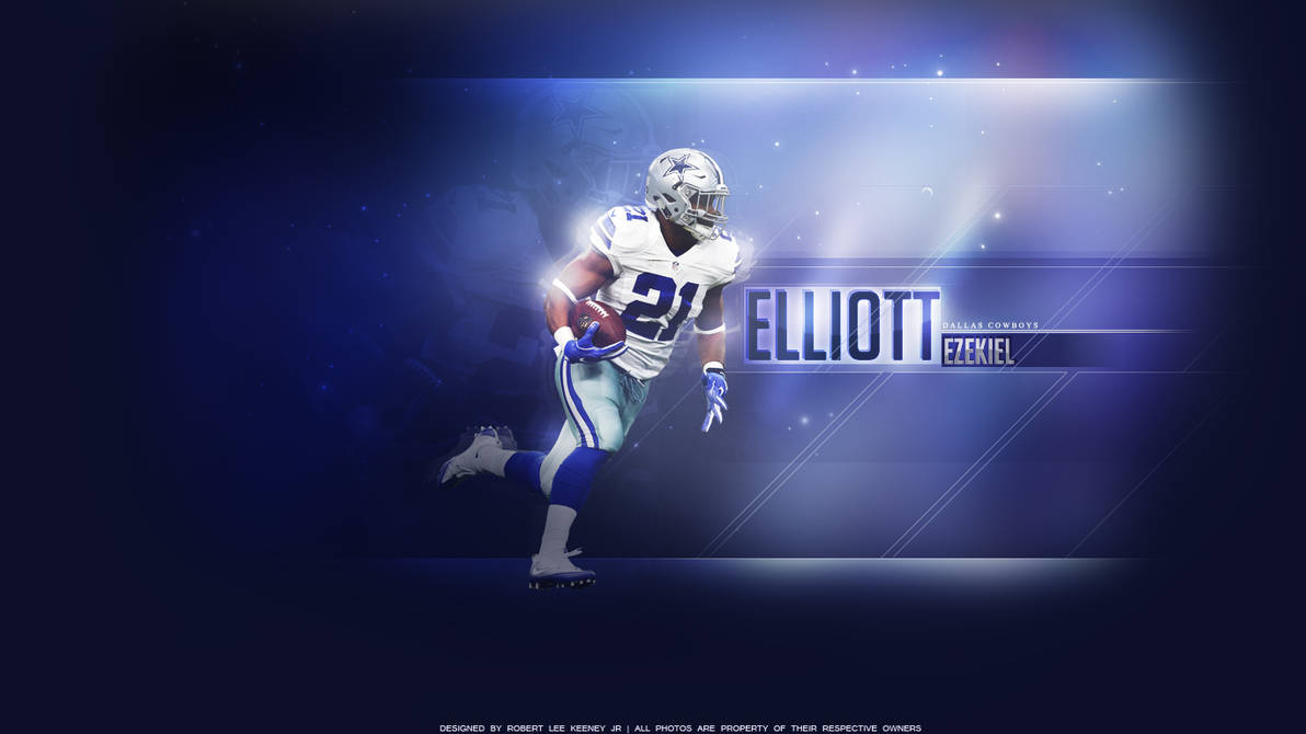 Ezekiel Elliott Wallpaper by lyricalflowz