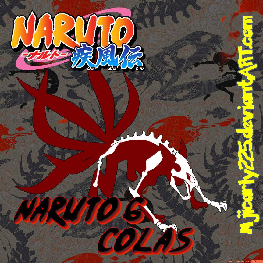 Vector Naruto 6 Colas By Mjicarly225 On DeviantArt