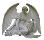 angel sculpture png