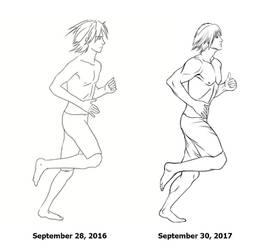 Redraw meme - 1 year progress