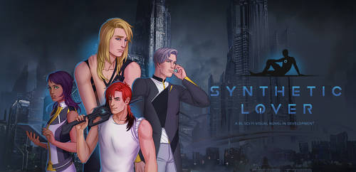 Synthetic Lover: bl visual novel cover