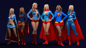 The Reign of the Supergirls