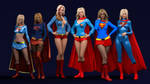 The Reign of the Supergirls by nyctophobia11